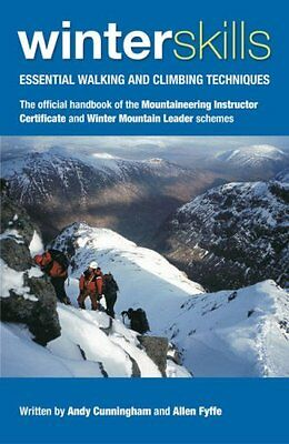 Winter Skills by Andy Cunningham New Paperback Book