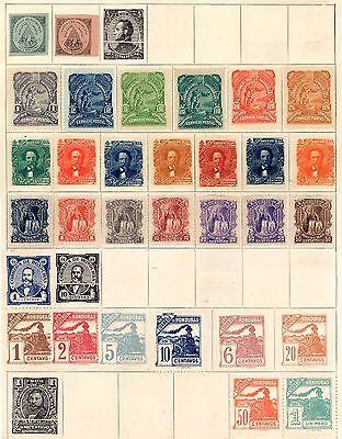 British Honduras Valuable Vintage Collection Lot imperf, mh & used