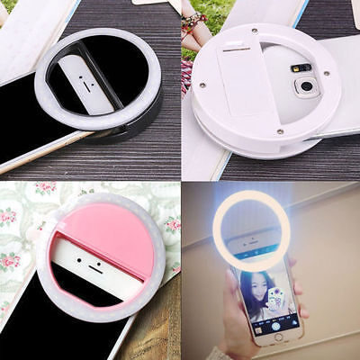 Rechargeable USB Charge Selfie Portable LED Light Camera for iPhone and AndroidG