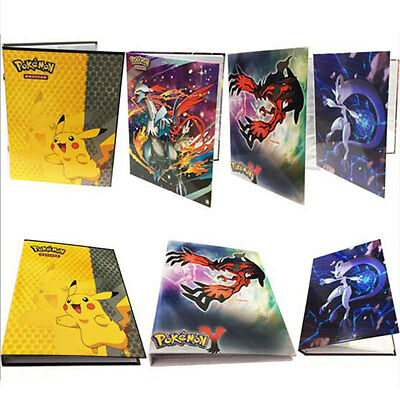 Pokemon Cards Album Book List Card Collectors Holds 160 Pokemon Trading Card