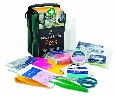 FIRST AID KIT FOR PETS, Dog, Cat, Horse - Signed For Delivery