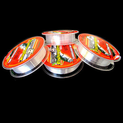 Fishing Line Strong Japanese 100m Nylon Transparent Fluorocarbon Tackle Line Hot