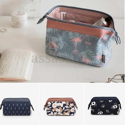 Portable Multifunction Travel Cosmetic Bag Makeup Toiletry Case Pouch Storage