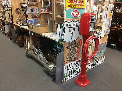 Pedestal Eco Tireflator # 98 Air Meter Shop Gas Station Tire Pump in Maine