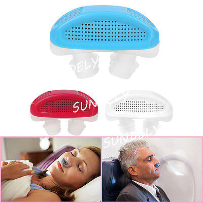 Night Nose Breathing Apparatus Air Purifier Stop Grinding Relieve Snoring UK