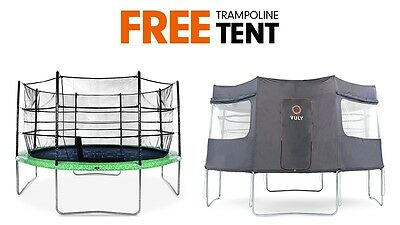 Vuly Classic Trampoline Tent Bundle with Cover for Outdoor Fun - 14ft