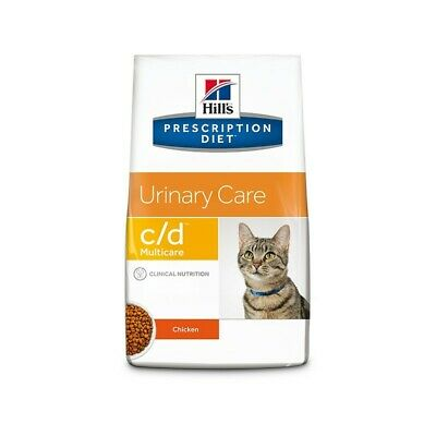 HILL S prescription diet  c/d feline multicare mangime secco  pollo  gr. 400