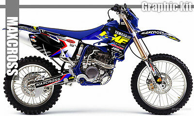 Yamaha Wr250F Wr450F Yz250F Yz450F 2003 2005 2006 Maxcross Graphics Kit Decals