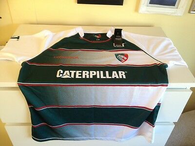 Leicester Tigers Home Replica Jersey 2015/16 by Kooga Size Medium Away Top