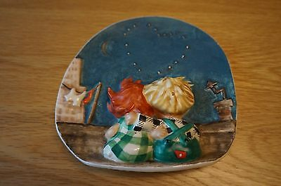 Very Rare Hummel Wall Plate/Plaque - Byj 21- by W. Goebel 1959