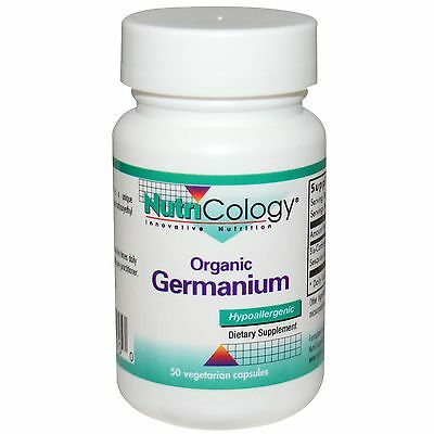 Organic Germanium - 50 Veggie Caps - Nutricology