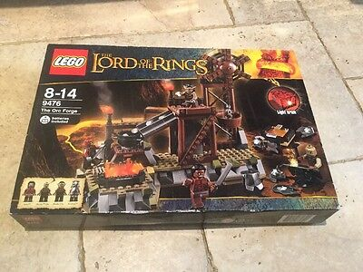 NEW LEGO 9476 Lord of the Rings • Orc Forge • Brand New/Sealed (box has damage)