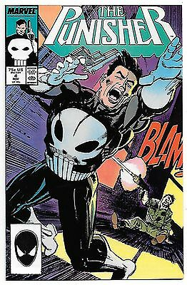 The Punisher #4 (1987; vf+ 8.5) by Mike Baron & Klaus Janson