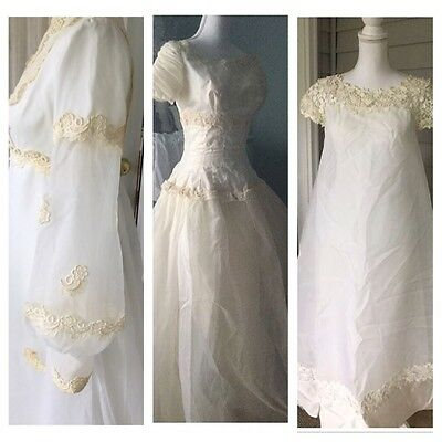 Vintage 50s 60s Wedding DRESS LOT Gown Small Sizes