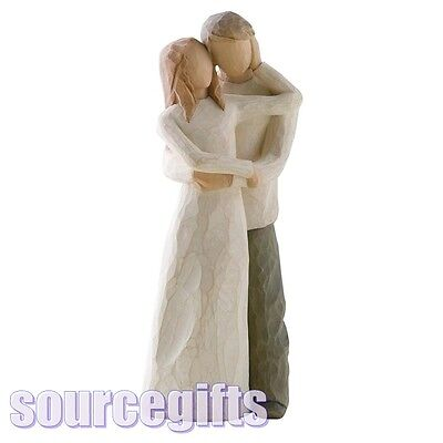 New * Together * Willowtree Figurine Ornament Willow Tree 26032