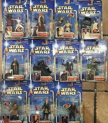 STAR WARS Attack Of The Clones Figurine Lot