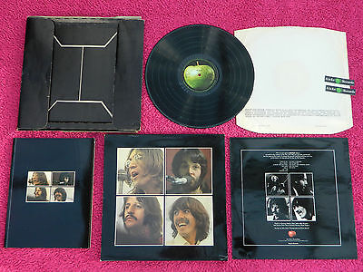 BEATLES 1970 UK 1st PRESS LET IT BE BOX SET PX1 FULLY COMPLETE + APPLE STICKERS