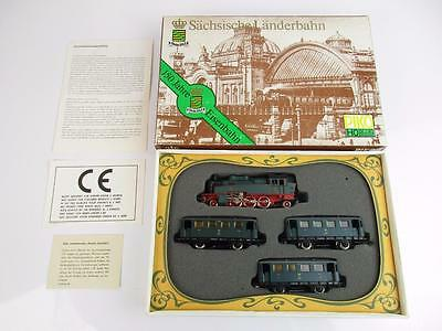 Piko Ho Gauge 5/0744/002 Sachsische Landerbahn 2-6-2 Loco And Rake Of 3 Coaches