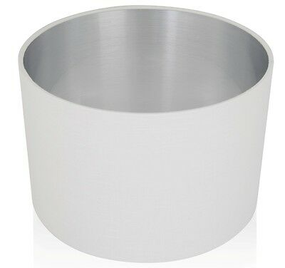 Leanne White Linen Style Cylinder / Drum Lampshades / Pendant Shade / Table