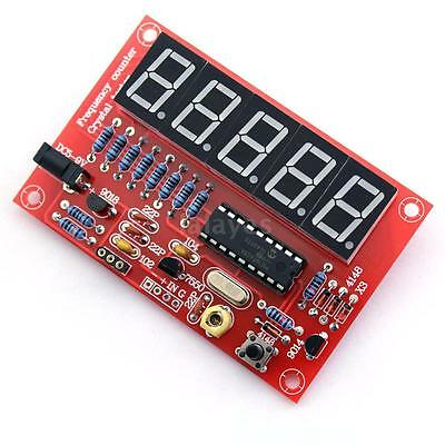 Frequency Counter Meter 1-50MHz for Crystal Oscillator Digital LED DIY Kit E0A4