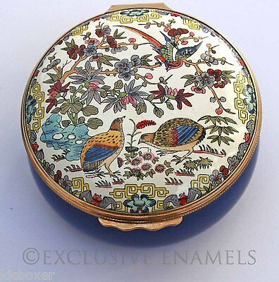 Halcyon Days Enamels Chinese Quail Metropolitan Museum of Art Enamel Box