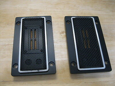 Rare Vintage Pair of Onkyo TW-050201A Ribbon Tweeters for F-5000 ------  Cool!!!