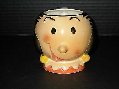 popeye olive mug oyl cup 1980 vintage comic cartoon ceramic vtg