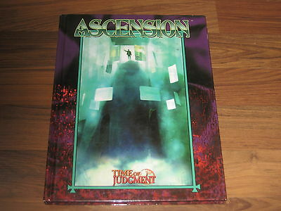 Mage The Ascension Time Of Judgment Hardcover White Wolf WW4999