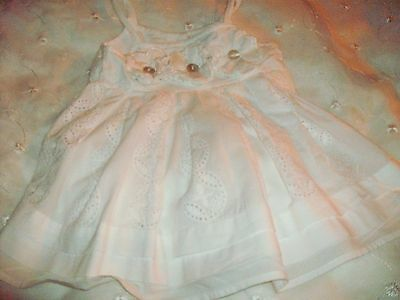 Next Baby Girls Pretty Dress Age 9-12Months