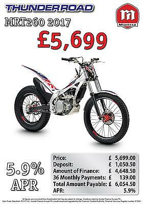 2017 Model Montesa Mrt260-H Available And Ready To Go From Stock