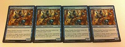4 x MTG Card - NIMBLE INNOVATOR - Kaladesh - NEW
