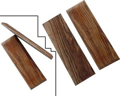 Set Of Olive Wood Scales For Knife, Axe Razor, Tool Bush Craft Making 2002