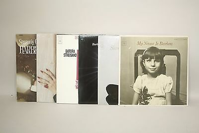 Barbra Streisand Vinyl  LOT of 6  LP Funny Girl