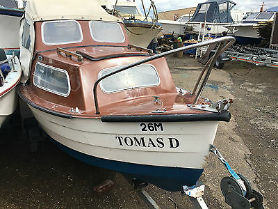 Mayland 14 Fishing Boat with Mariner 4hp Outboard