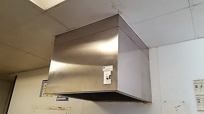 4 ft Stainless Steel Restaurant Hood System with Exhaust & Supply Fan
