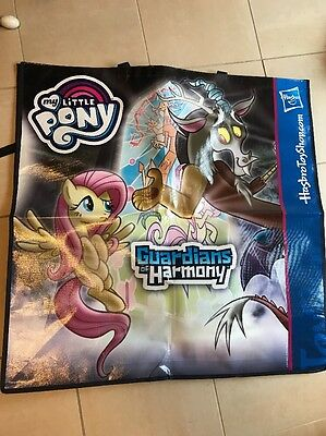 SDCC 2016 Swag Bag Hasbro My Little Pony Discord And Transformers Titans New