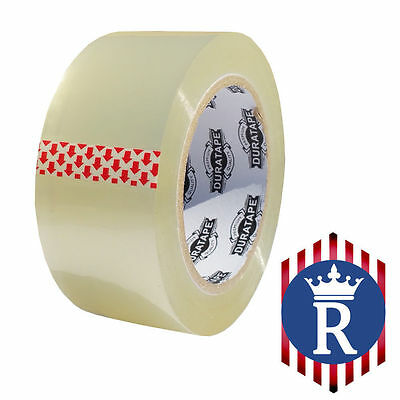 """2"""" X 110 YD CLEAR CARTON SEALING BOX TAPE 2.3mil (Ships Today)"""