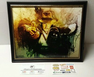 Vader of the Lost Ark Comic Con Box EXCLUSIVE Indiana Jones Star Wars LITHOGRAPH