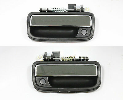 Rear Exterior Outside Exterior Door Handle Pair Set of 2 for 04-13 F150 Pickup