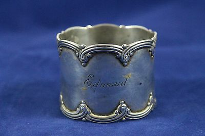 Antique Sterling Silver Tiffany & Co. Napkin Ring