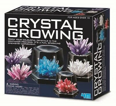 NEW 4M Crystal Growing Kit from Mr Toys Toyworld