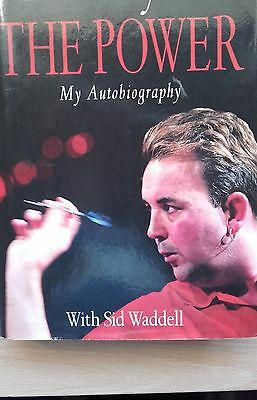 The Power my autobiography hard back book signed by Phil Taylor & Sid Waddell
