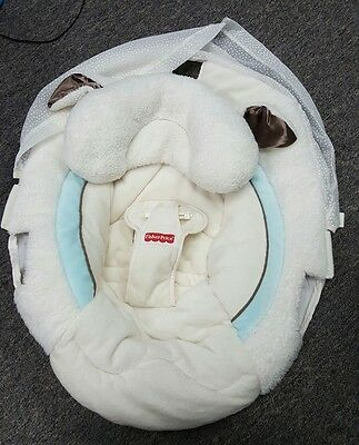 Fisher Price My Little Lamb Cradle Swing Seat Cover Replacement Part