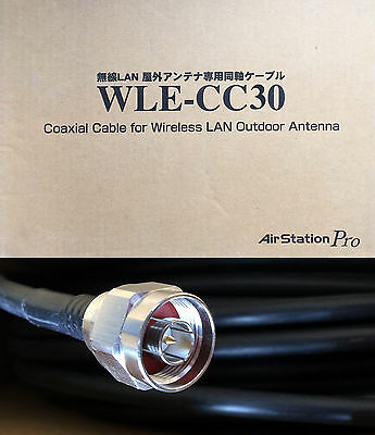 Cavo Coassiale Wle-Cc30 Buffalo Per Reti Wireless E Antenna Air Station Pro