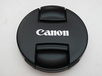77mm DSLRs Camera lens Center Pinch Snap Cap Cover for Canon Camera Japan Made