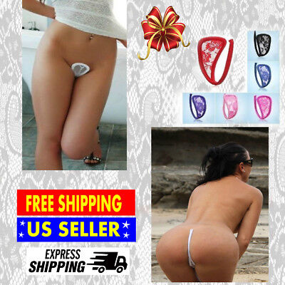 Women C String Thong Invisible Panty No Show Underwear Sexy Panties G-string