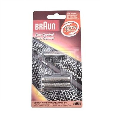 Braun 585 Replacement Foil & Cutter for Flex Control Shavers