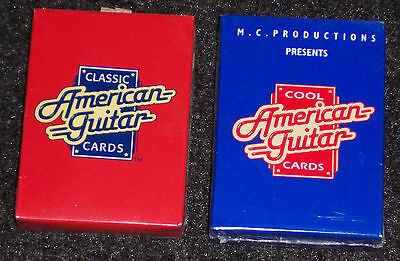 Classic American Guitar Cards / Cool American Guitar Cards