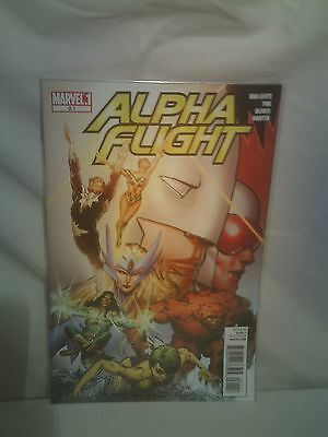 Alpha Flight Marvel Comics issues 0.1    2009