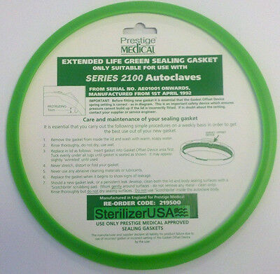 Prestige Classic 2100 Autoclave Extended Life Gasket
